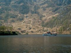Steamboat at Loch Katrine (elkarrde) Tags: landscape nature lake loch scotland uk travel trees forest hills scenery scenic microfourthirds mirrorless digital digitalphotography mediumdigital panasonic panasoniclumixdmcgx7 panasonicgx7 panasoniclumix lumix lumixg dmcgx7 gx7 lochkatrine steamboat boat reflection panasoniclumixg35100mmf456 35100mm 35100456 telephoto telelens island waves hikk camera:brand=panasonic camera:mount=microfourthirds camera:format=microfourthirds camera:model=dmcgx7 lens:mount=microfourthirds lens:format=microfourthirds lens:brand=panasonic lens:model=gvario145635100