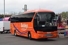 OU66XBH  Buckleys, Doncaster (highlandreiver) Tags: ou66xbh ou66 xbh buckleys coaches doncaster neoplan tourliner bus coach carlisle cumbria