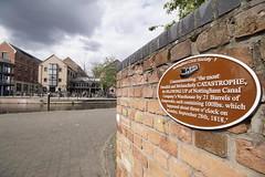 06 May 2019 Nottingham (37) (AJ Yakstrangler) Tags: nottingham yakstrangler canal plaque