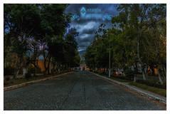 Alameda de El Calvario (tuantigua) Tags: calle arcos agua arquitectura patrimonio santiagodeloscaballeros laantigua jardin parque arte foto fotografía fuente viacrucis calledelospasos