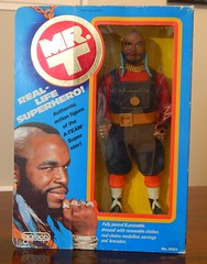 "Galoob MR. T 12"" (theskullreviews) Tags: galoob mr t 12 inch action figure 1983"