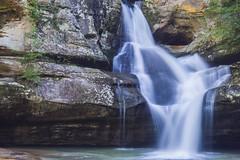 Cedar Falls_DSC1524 (GmanViz) Tags: gmanviz color waterfall water rocks stream hockinghills cedarfalls ohio sony a6000 longexposure