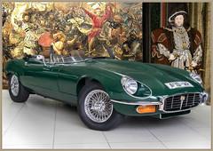 Henry's new Jaguar (PaulO Classic. ©) Tags: digitalmania photoshop picmonkey jaguar etype henryviii holbein
