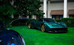 Green on gold (Aozaki Nico) Tags: pagani huayratempesta huayra paganihuayra v12 amg supercar hypercar sportcar luxury exotic car automobile automotive photography hongkong