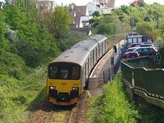 150001 Lympstone Village (2) (Marky7890) Tags: gwr 150001 class150 sprinter 2b78 lympstonevillage railway devon avocetline train