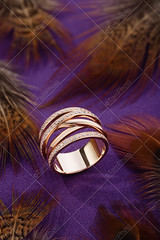 Pink gold fashion ring with diamonds on purple background with feathers (Aleksa Torri) Tags: accessories background bridal bride brilliant casual celebration christmas closeup concept copyspace crystal decorations design diamond elegance exclusive expensive fashion female gem gemstone gift glamour gold holidays jewel jeweler jewellery jewelry lifestyle luxury minimalism modern nobody one pink ring romantic style unusual valentines wave wedding women purple ribbon advertising feather brown
