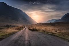 GLEN ETIVE, SCOTLAND (Ana Vanesa Naranjo) Tags: scotland etive glen river waterfall buachaille landscape sky stream mountain uk highlands scottish rocks rannoch coe winter mor hill glencoe rock natural mountains wild peak europe highland grass wales photography sunset valley nature