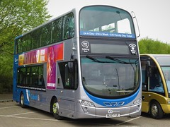 Go North East 6101 (NL63YJE) - 05-05-19 (peter_b2008) Tags: goaheadgroup gonortheast gonorthern cobaltclipper volvo b9tl wrightbus wright eclipsegemini2 6101 nk63yje buses coaches transport buspictures