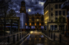 The Albert Hall, Manchester (Kev Walker ¦ 10 Million Views..Thank You) Tags: architecture building city england manchester panoramic sky town water art background bridge britain buildings business canal castlefield center centre cityscape design downtown dusk europe european great kingdom landmark light metropolitan modern night places quays quayside reflection salford skyline skyscraper square symbol tourism tower travel twilight uk united urban view yellow