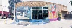 Wall Art (Past Our Means) Tags: wall art graffiti paint painting south florida travel adventures adventure wanderlust miami wynnwood wynwood panoramic panorama panarama horizon perfekt wide film filmisnotdead filmphotography filmsnotdead analog analogue analouge kodak kodakfilm ektar 100 35mm ektar100 streetphotography lomo lomography