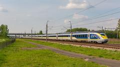 Lage Zwaluwe Eurostar PBA 4029-4030 trein 9177 Brussel-Zuid (Rob Dammers) Tags: zevenbergschenhoek noordbrabant nederland
