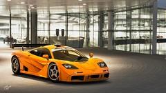 McLaren F1 GTR (chumako@bellsouth.net) Tags: vintage cars gaming photomode scapes polyphony granturismo gtsport ps4pro ps4 playstation british orange gtr f1 mclaren