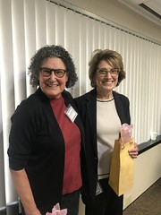 Sue Birnholtz and Micki Grossman get honored