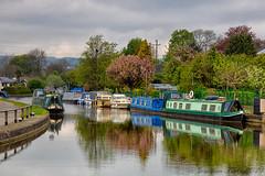 Leeds & Liverpool Canal @ Bingley_E5A3636 (Jonathan Irwin Photography) Tags: leeds liverpool cana bingley barges long boats water reflection