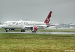 VIRGIN B787 G-VOWS (Adrian.Kissane) Tags: shannonairport aircraft virgin b787 gvows shannon 37974 1542019 taxing aeroplane jet airliner airport grass ireland dreamliner 7878 boeing plane