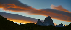 Clouds on the Fitz Roy (Gerba-007) Tags: patagonie patagonia argentine argentina chalten fitzroy cerrotorre huemul trek clouds sunset ciel sky moutain rock rocher montagne nuage
