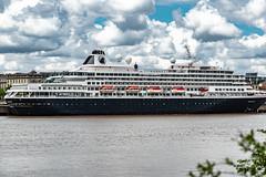 08-Le Prinsendam (Alain COSTE) Tags: 2019 bateau bordeaux ciel garonne lesquais paquebot quartierbastide rivedroite tamron70210f4 nuages quais