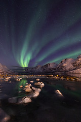 Tromsoe_2019-75.jpg (kerstinhdf) Tags: norway northern lights aurora borealis tromsö winter fjord stars ice night long exposure
