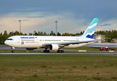 CS-TSU (Skidmarks_1) Tags: cstsu euroatlanticairways boeing767 engm norway osl oslogardermoenairport aviation aircraft airport airliners