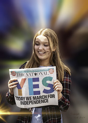 National (stirrup@live.co.uk) Tags: movement yes allunderonebanner auob female glasgow campaign march independence culture scotland