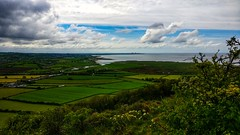 View across Morecambe Bay from Warton Crag. (peterileypics) Tags: river sea bay beach coast landscape lancashire sky clouds morecambe