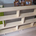 Bookcase constructed