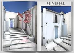 MINIMAL - Santorini Backdrop (MINIMAL Store) Tags: minimal x santorini backdrop collabor88 eventsl decoration home interior secondlife sl