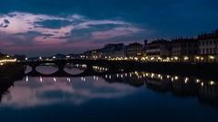 Tramonto sull'Arno a Firenze (giorgiorodano46) Tags: marzo2015 march 2015 giorgiorodano firenze toscana tuscany italy arno tramonto crepuscolo twilight