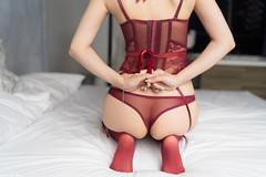 III09105 (HwaCheng Wang 王華政) Tags: 人像 外拍 馬甲 內衣 花蓮 費斯 玻璃屋 旅拍 corset underwear md model portraiture sony a7r3 ilce7rm3 a7r mark3 a9 ilce9 24 35 85 gm 絲襪 stockings