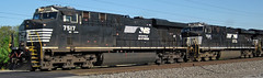 Norfolk Southern Railway # 7517 & 7520 diesel locomotives (Columbus, Ohio, USA) (James St. John) Tags: