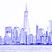 One World Trade Center (drawing filter)