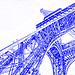 Eiffel Tower (drawing filter)