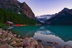 Lake Louise (Jim Nix / Nomadic Pursuits) Tags: jimnix nomadicpursuits travel luminar landscape lakelouise banff nationalpark canada canadianrockies chateaulakelouise sunset sony sonya7ii lake