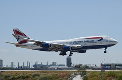 British Airways 747-436 (G-BYGA) LAX Approach 1 (hsckcwong) Tags: britishairways 747436 747400 747 gbyga lax klax