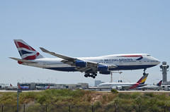 British Airways 747-436 (G-BYGA) LAX Approach 2 (hsckcwong) Tags: britishairways 747436 747400 747 gbyga lax klax