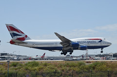 British Airways 747-436 (G-BYGA) LAX Approach 3 (hsckcwong) Tags: britishairways 747436 747400 747 gbyga lax klax