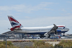 British Airways 747-436 (G-BYGA) LAX Approach 4 (hsckcwong) Tags: britishairways 747436 747400 747 gbyga lax klax
