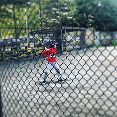 First time up to bat. (Stv.) Tags: ifttt instagram phoneography