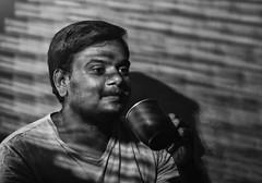 Entertaining a thought! (Bhuvan N) Tags: portrait portraits people blackandwhite bw bnw mono monochrome absoluteblackandwhite godox godoxtt600 strobist ocf noir dark retrato portraitproject kaapilota