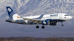 Aurora Airlines Airbus A319-111 VP-BDM (Zhuravlev Nikita) Tags: aurora airbus a319 319 spotting elizovo kamchatka uhpp