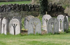 circleclose (Shannon O'Haire) Tags: ballyvaughn church churches clare druidstones graveyardphotography graveyards cemeteries religiousstatues religiousinstitutions cross paganireland circlegrave memorials burren ireland eire waw wildatlanticway