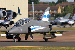 HW-334 (GH@BHD) Tags: hw334 bae britishaerospace hawk hawkmk51 finnishairforce midnighthawks riat riat2017 royalinternationalairtattoo raffairford fairford aircraft aviation military fighter trainer