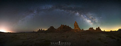 The Heavens Above (ihikesandiego) Tags: trona pinnacles milky way arch southern california desert night sky