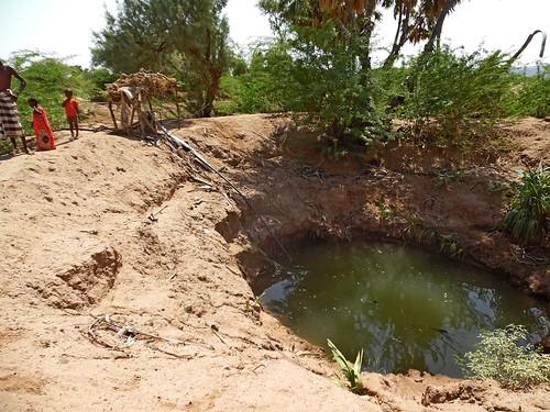 Shallow well in wadi Gobaad Djibouti (2)