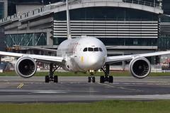 ET-AUO Boeing 787-9 Ethiopian Airlines (eigjb) Tags: etauo boeing 787 7879 b787 dreamliner ethiopian airlines jet airliner transport aircraft airplane aeroplane aviation plane spotting dublin airport eidw international collinstown 2019