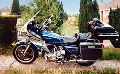 Gold Wing (Beardy Vulcan II) Tags: honda goldwing motorcycle motorbike moto vehicle bike bergestate basingstoke hampshire england summer august 1984 20thcentury
