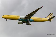 F-WWYL // HS-XJB Thai AirAsia X Airbus A330-941 MSN 1903 (Florent Péraudeau) Tags: fwwyl hsxjb thai airasia x airbus a330941 msn 1903 a330 900 941 339 neo toulouse blagnac lfbo tls spotting plane canon eos 1 d mark iv sigma 60600 60 600 sport