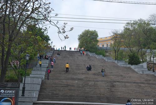 Потьомкінські сходи, Одеса, травень 2019 InterNetri Ukraine 318