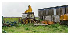 Poor old girl! (Trev 'Big T' Hurley) Tags: jcb digger backhoe rusting abandoned old unused 1974 mreg forgotten jcbamford farm farming machine machinery unloved lifeexpired worn battered jcb3cii