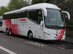 City Circle of Hayes Scania K410EB6 Irizar i6 YN17OMK 146, in Globus Tours livery, at Johnston Terrace, Edinburgh, on 6 May 2019. (Robin Dickson 1) Tags: citycircle busesedinburgh scaniak410eb6 irizari6 yn17omk globustours